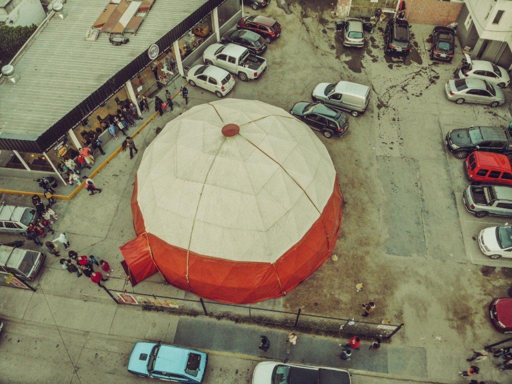 Pachy Falcati - El Circoscopio el domo geodésico